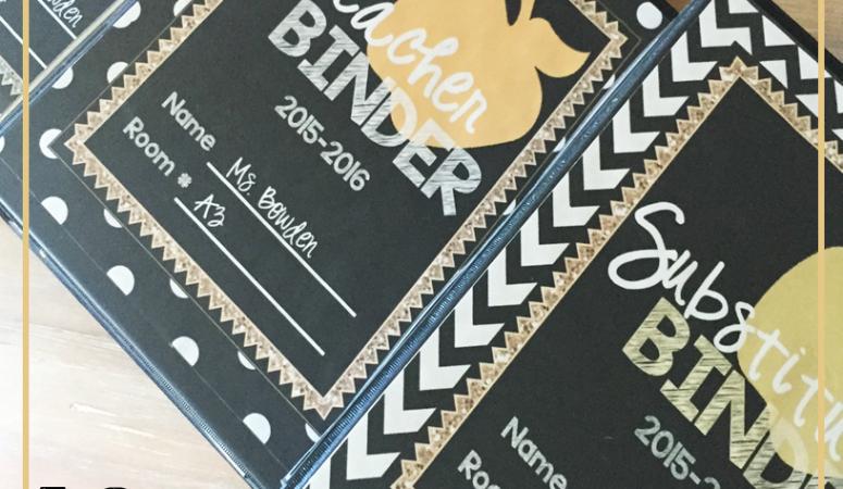 Teacher Binder – Tips & Free Resources!