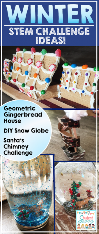 Winter STEM Challenge Ideas for the Classroom!