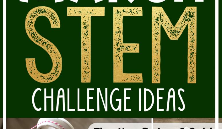 Saint Patrick's Day STEM Challenges (March STEM)