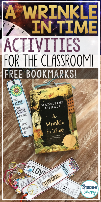 A Wrinkle in Time Activities and Free Resources for the Classroom!