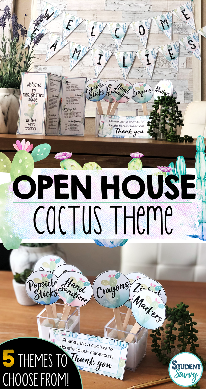 Open House 5 Themes