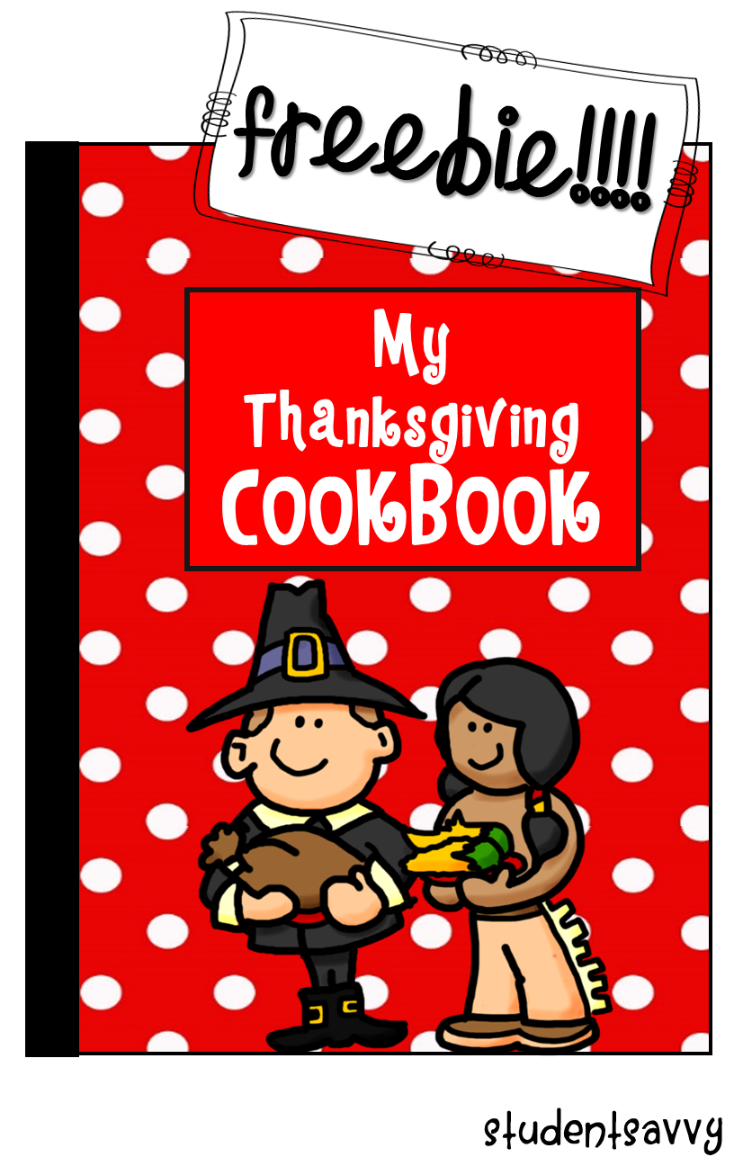 Thanksgiving COOKBOOK Freebie!