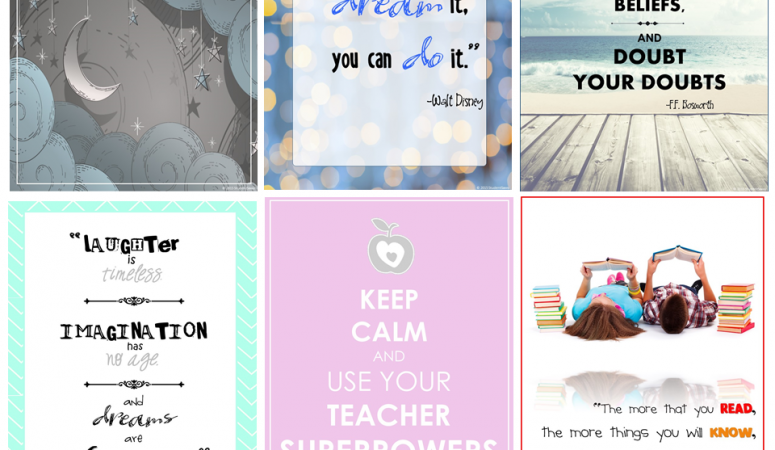 Celebratory Freebies, Motivation, and my TpT Journey!