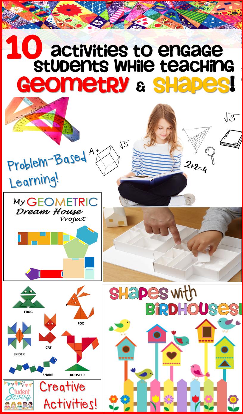 10 Activities with Geometry & Shapes!
