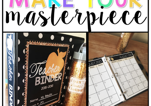 TpT Challenge – MAKE YOUR MASTERPIECE!