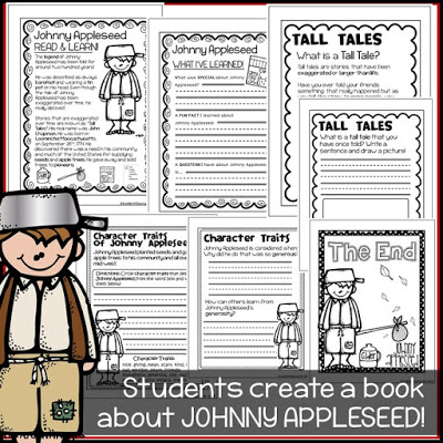Johnny Appleseed Fun Facts Student Savvy