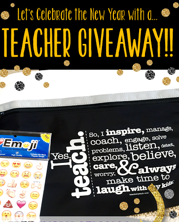 Happy New Year!! Time for a Teacher Giveaway!