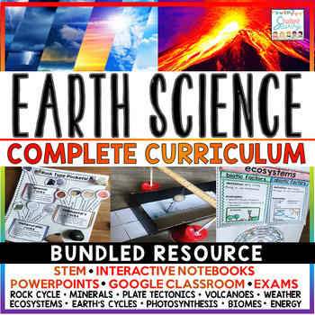Earth Science Complete Curriculum Teaching Resource