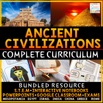Ancient Civilizations Complete Curriculum
