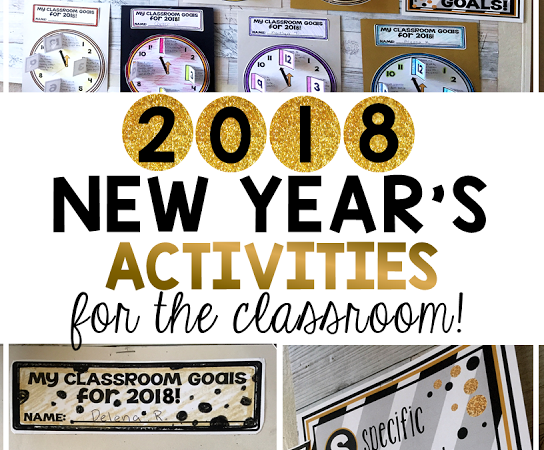 New Year's Resolutions 2019 for the Classroom!