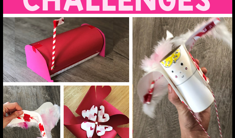 Valentine's Day STEM Challenges  (February STEM)