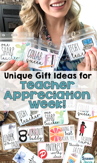 Unique Teacher Appreciation Week Gift Ideas – Lanyard Swag!