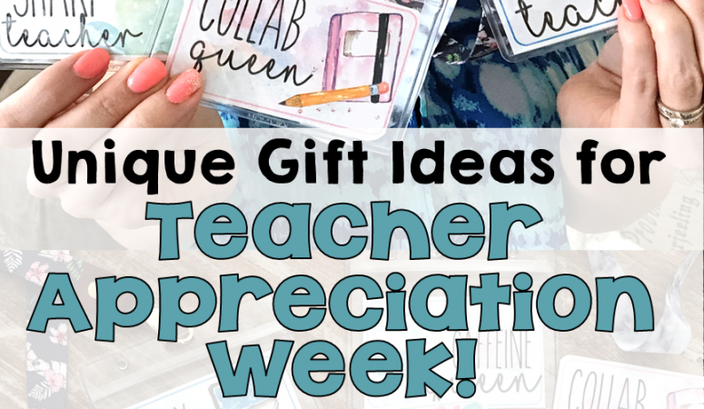 Unique Teacher Appreciation Week Gift Ideas – Lanyard Swag!