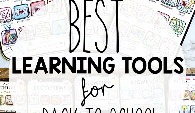 The Best Learning Tools for Back to School!