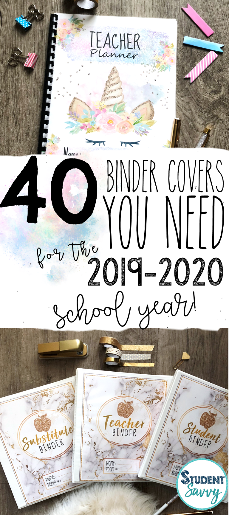 Teacher Binders and Planners