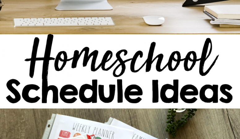 Homeschool Schedule Ideas & Distance Learning Help