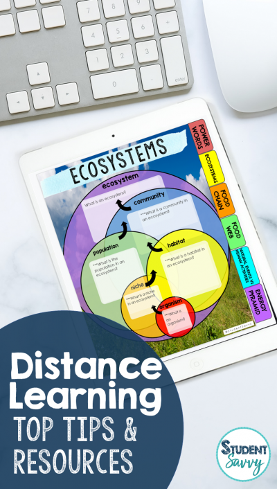 Distance Learning Top Tools and Tips