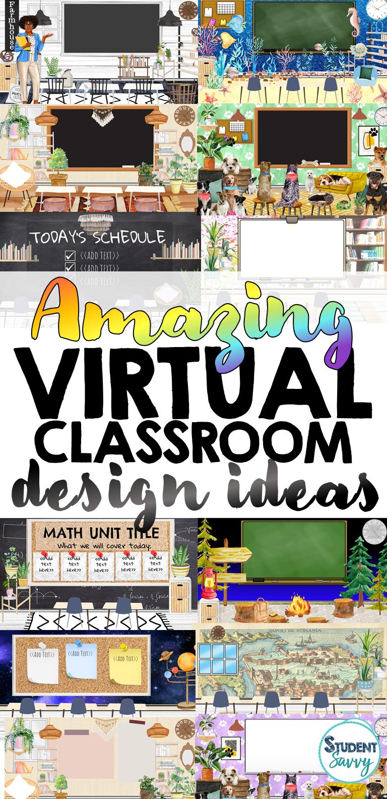 Amazing Virtual Classroom Ideas And Designs Student Savvy