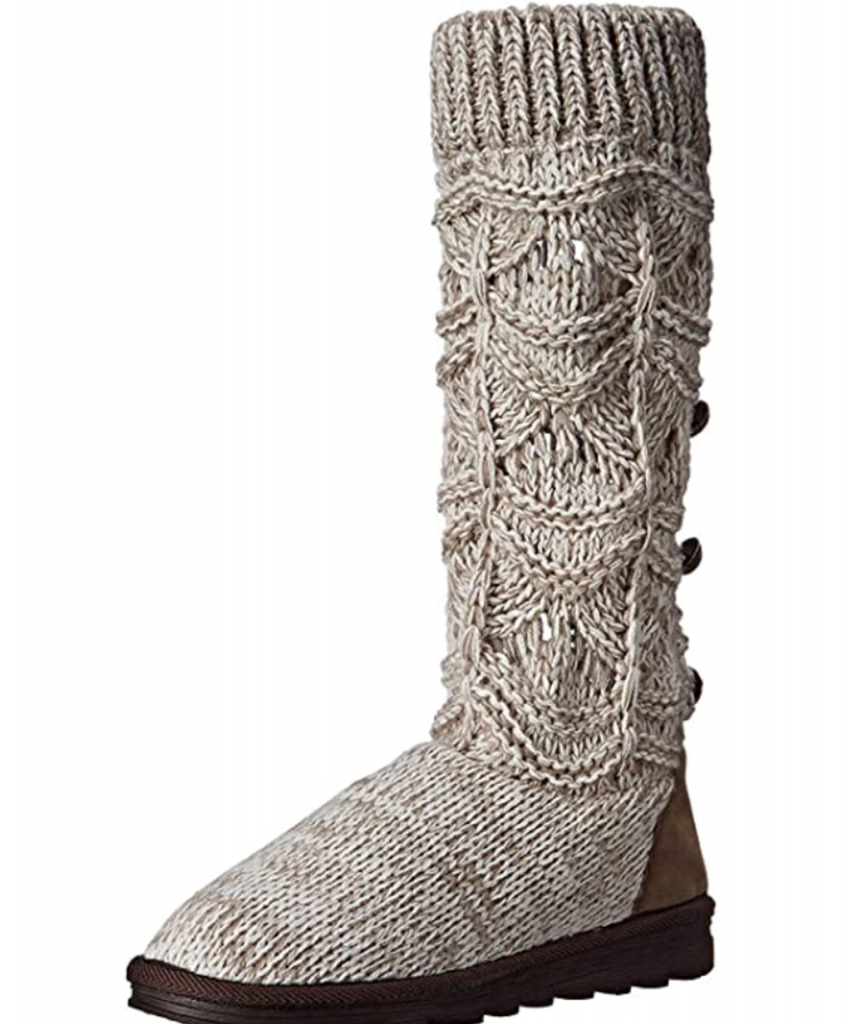 knit boots