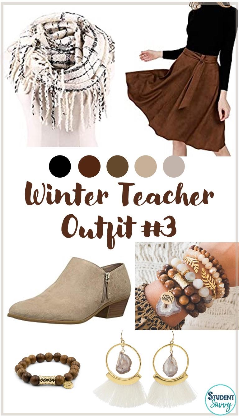 Winter Teacher Outfit