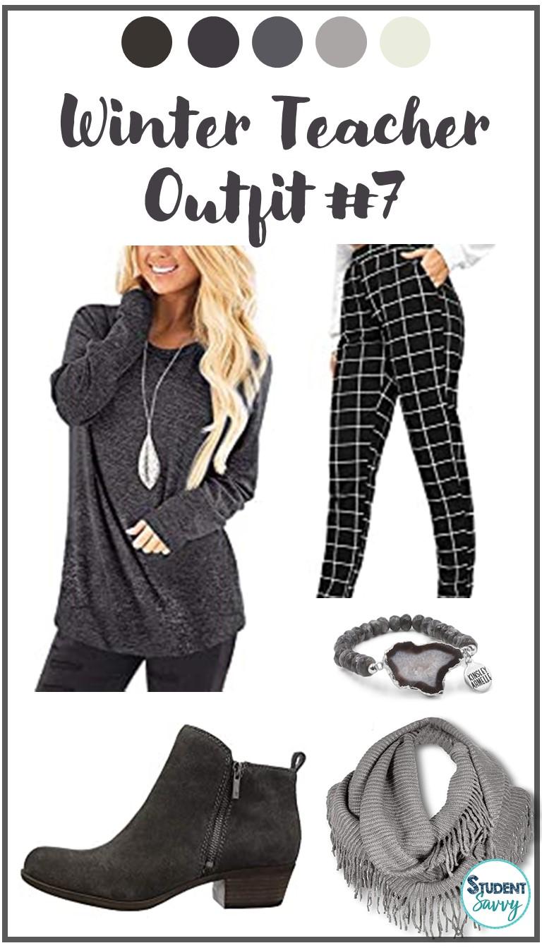 Winter Teacher Outfit 7