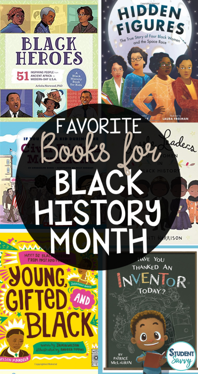 Black History Month Books for Elementary Students!