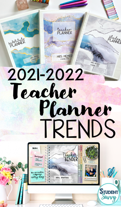 Teacher Planner Trends and Ideas for the Upper Elementary Classroom