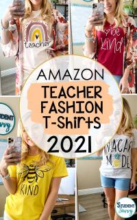 Teacher Tshirts on Amazon Fashion Finds
