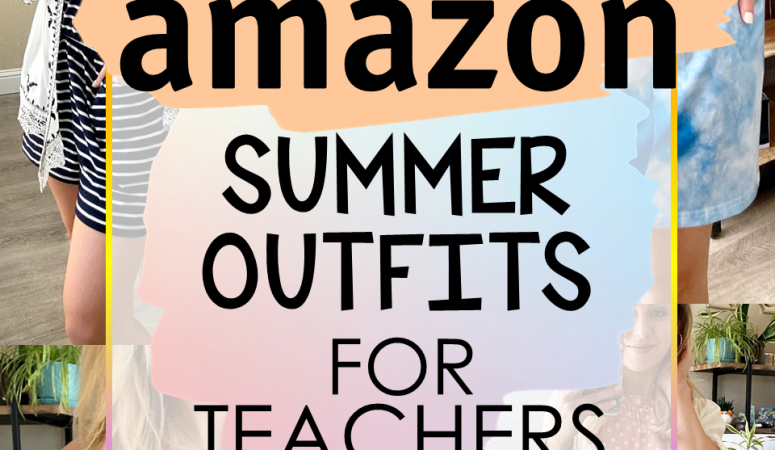 SUMMER TEACHER OUTFITS – TOP AMAZON FINDS!