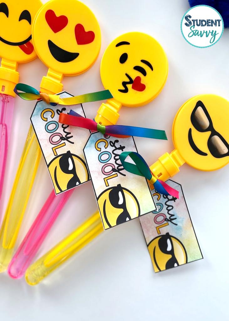 Emoji Bubble Wands