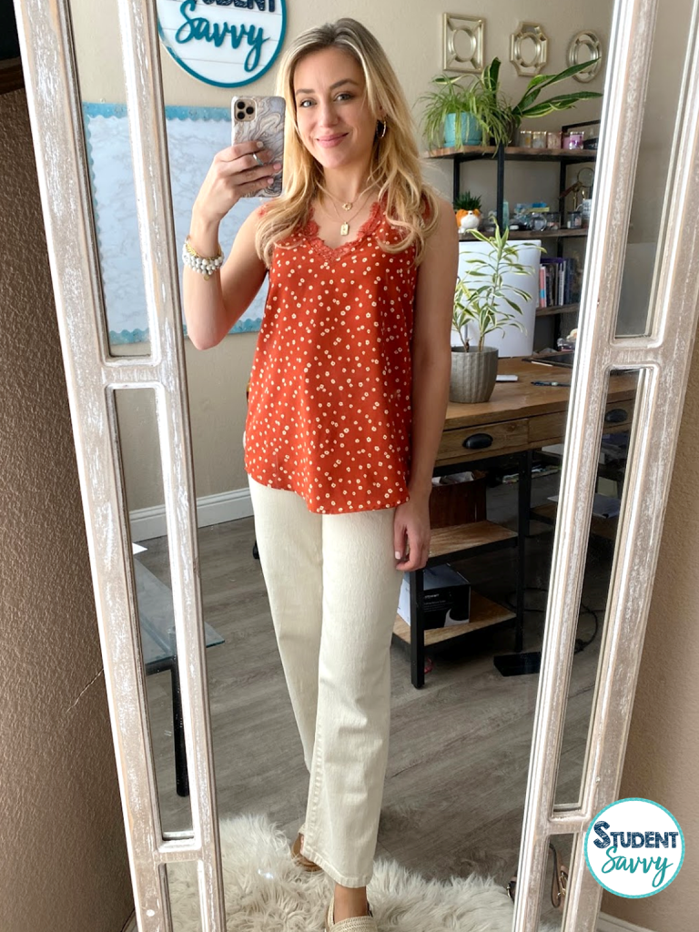 amazon teacher outfit for the summer