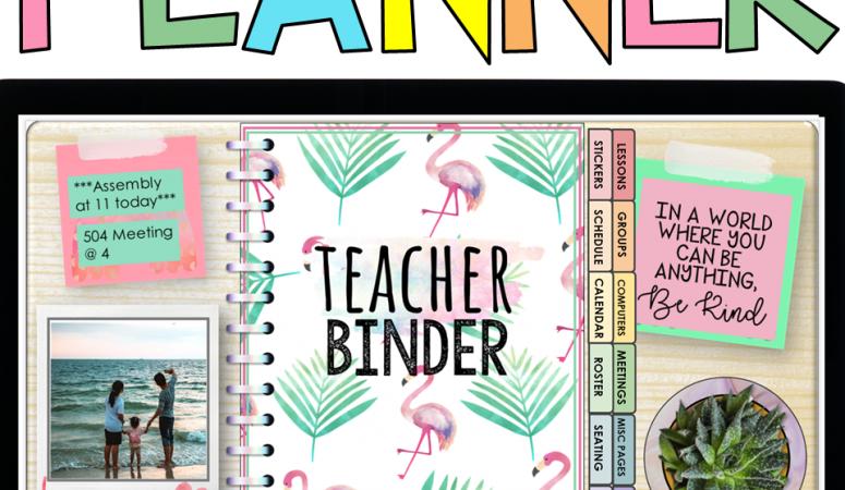 Digital Teacher Planner FREE Digital Planner Stickers