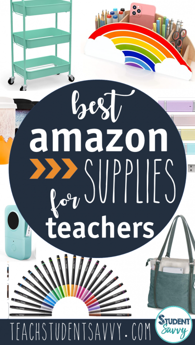 Back to School 2021: The Best Supplies for Teachers on Amazon