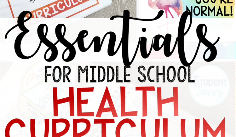 3 Essential Topics in Any Middle School Health Curriculum