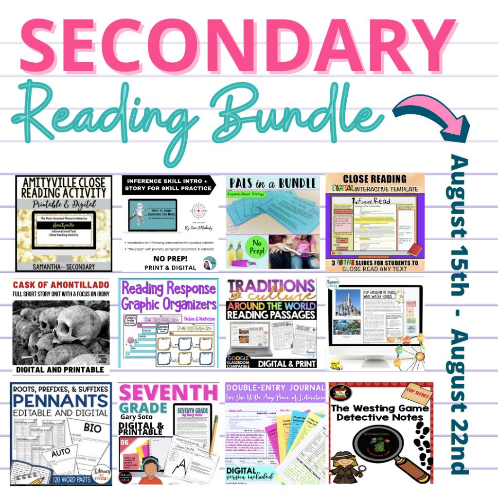 Secondary Reading Bundle