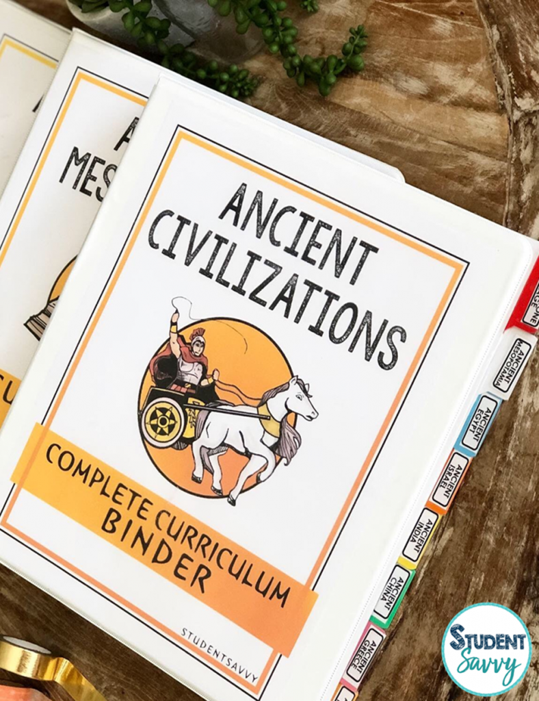 Ancient Civilizations Curriculum and Ancient History Lessons