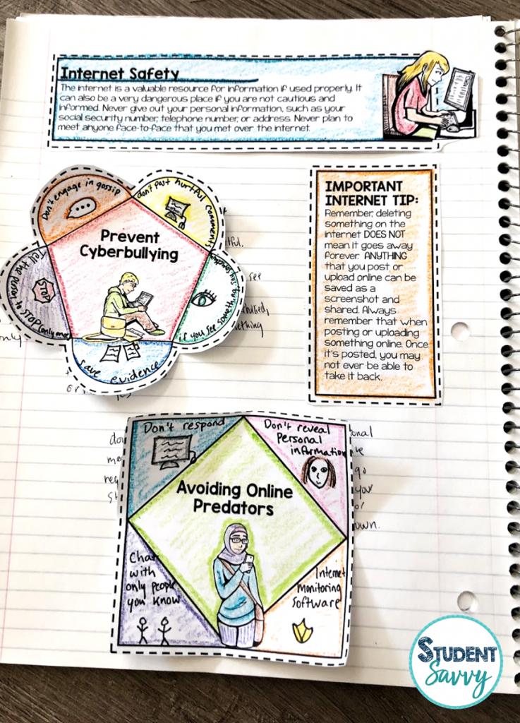Online Safety 6th Grade Health