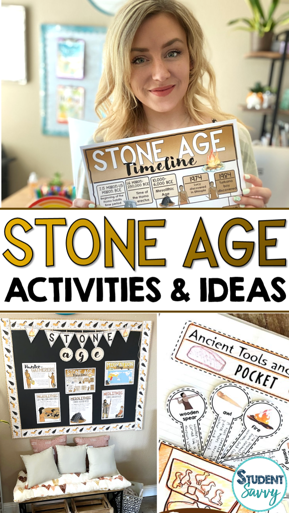 Stone Age Resources Paleolithic Activities