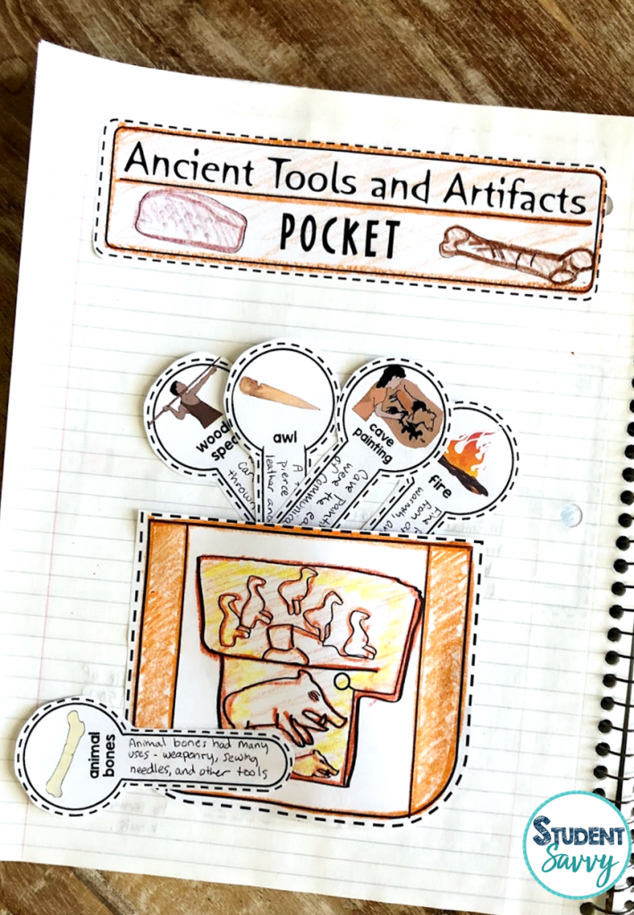 Stone Age Interactive Notebooks
